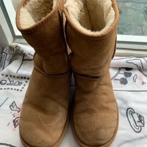 UGG brown ladies boots size 8